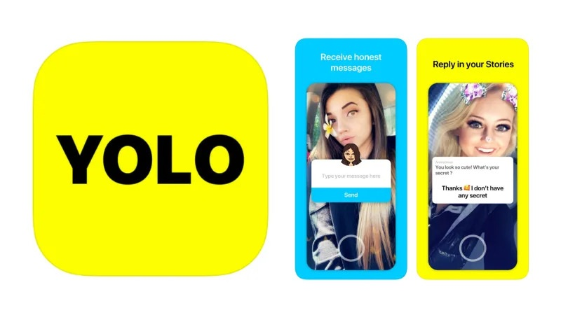 Yolo Snapchat App Download - Q&A on Snapchat